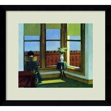 'Room in Brooklyn' by Edward Hopper Framed Graphic Art