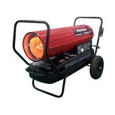 125,000 BTU Portable Kerosene Forced Air Utility Heater with Thermostat