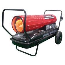 215,000 BTU Portable Kerosene Forced Air Utility Heater with Thermostat