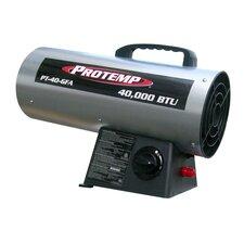 40,000 BTU Portable Propane Forced Air Utility Heater