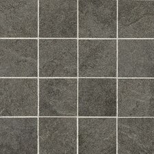 "Shadow Bay 3"" x 3"" Porcelain Mosaic Tile in Sea Grass"