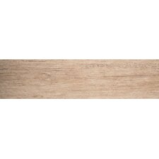 """Country 6"""" x 24"""" Porcelain Wood Tile in Hampton"""