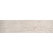 "Country Arbor 6"" x 24"" Porcelain Wood Tile in Ivory"