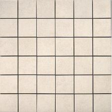 Pacific Ceramic Mosaic Tile in Ivory