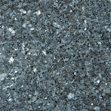 "Natural Stone 12"" x 12"" Granite Field Tile in Blue Pearl"