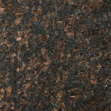 "Natural Stone 12"" x 12"" Granite Field Tile in Tan Brown"