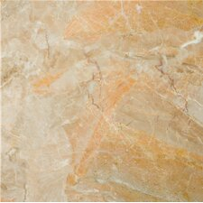 "Natural Stone 12"" x 12"" Marble Field Tile in Breccia Oniciata"