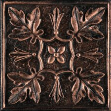"Camelot 4"" x 4"" Arthur Deco in Copper"