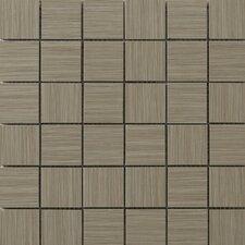 """Strands 2"""" x 2"""" Porcelain Mosaic Tile in Olive"""