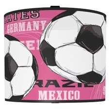 Soccer Balls Drum Lamp Shade