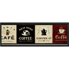 Coffee Signs Wall Art Plaque