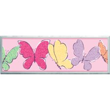Butterflies Graphic Art on Plaque