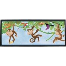 Monkeys Framed Painting Print