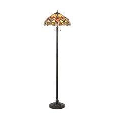 "Victorian Tiffany Style Byron 66"" Floor Lamp"