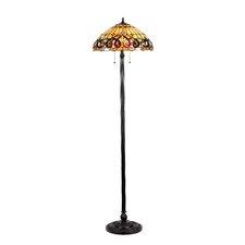 Victorian Serenity Floor Lamp
