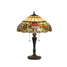 """Victorian Hestle 24"""" H Table Lamp with Bowl Shade"""