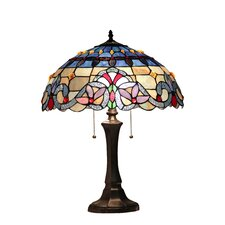 """Victorian Grenville 22"""" H Table Lamp with Bowl Shade"""