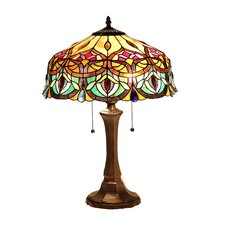 "Lydia 22.6"" H Table Lamp with Bowl Shade"