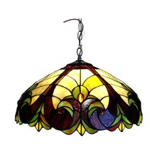 Tiffany Style Victorian Hanging Lamp