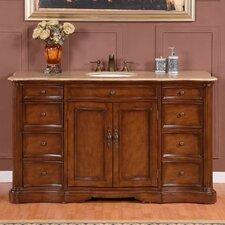 """60"""" Sink Cabinet Bathroom Vanity Set"""