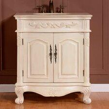 """32"""" Single Sink Cabinet Bathroom Vanity Set"""