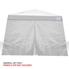V-Series 10 Ft. W x 10 Ft. D Sidewall Canopy Kit