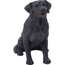 Mid Size Sculptures Sitting Labrador Retriever Figurine