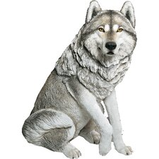 Life Size Large Wolf Statue