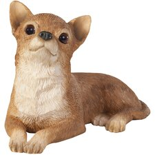 Small Size Sculptures Chihuahua Figurine