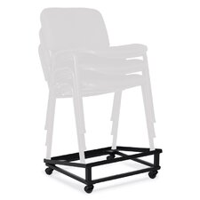 """Stack and Guest 7.5"""" x 21.25"""" x 18.75"""" Chair Dolly"""