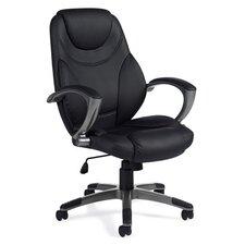 High-Back Luxhide Executive Tilter Executive Chair