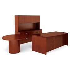 Ventnor 4-Piece Standard Desk Office Suite
