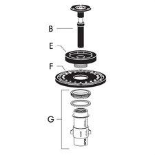 Repair Kit for Regal 1.5 gpf/ 5.7 lpf Urinal