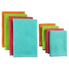 8 Piece Terry Bar Mop Dish Towel & Dish Cloth Set