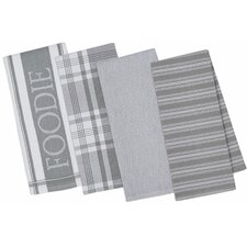 4 Piece Gourmet Kitchen Dishtowel Set