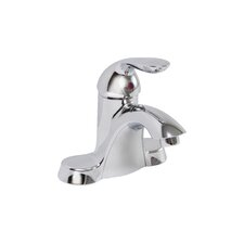 Waterfront Single Handle Bathroom Faucet with Optional Pop-Up Drain