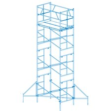 """Homebuilder 1.25' H x 72"""" W x 18.96"""" D Steel Scaffold Tower with 375 lb. Load Capacity Type 2A Duty Rating"""