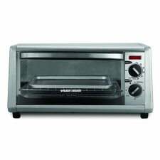 4-Slice Stainless Steel Toaster Oven