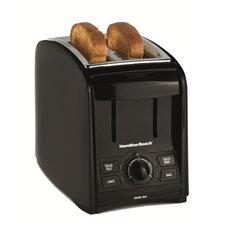 2 Slice Toaster in Black