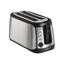 Long Slot 4 Slice Toaster