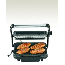 Contact Grill with Removable Nonstick Grid