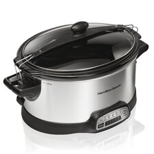 6-Quart Stay or Go Slow Cooker