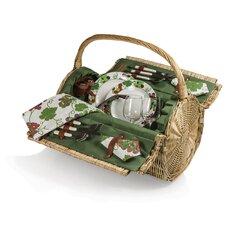 Barrel Picnic Basket