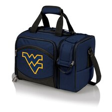 West Virginia Malibu Picnic Tote Set