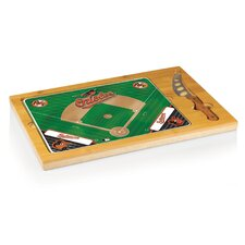 MLB Icon Cutting Cheese Tray