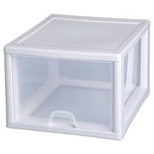 27 Quart Clear Stacking Drawer (Set of 4)
