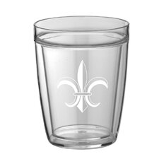 Fleur De Lis 14 Oz. Everyday Tumbler (Set of 4)