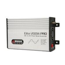 Elite Pro Pure Sine Wave 200W / 400W Peak Power Inverter