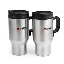 16 oz Travel Mug (Set of 2)