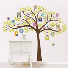 Art Kit Owl Tree Wall Decal